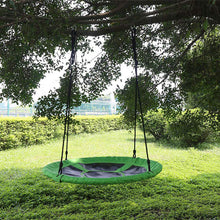 Load image into Gallery viewer, HLC - Round Tree Swing Hanging Seat Set for Multiplayer