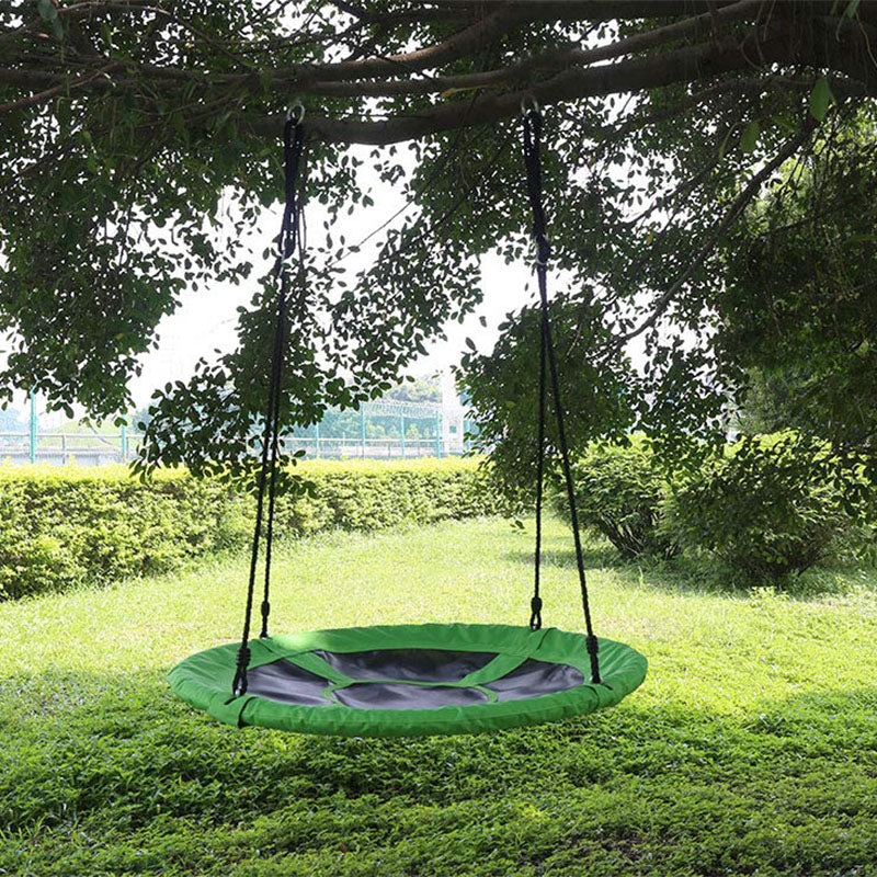 HLC - Round Tree Swing Hanging Seat Set for Multiplayer