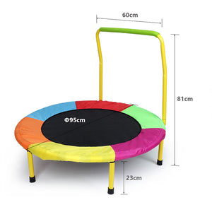 HLC mini trampoline-Indoor Outdoor Toddler Toys Round Trampoline