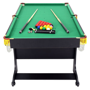 HLC - Vertical Folding Pool Table Indoor