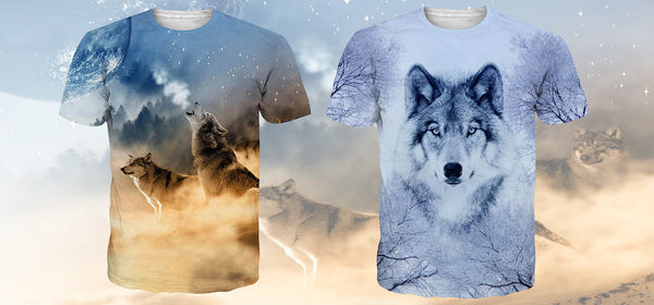 Best Wolf T Shirts for Wolf Lovers