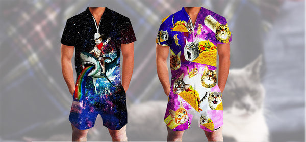 Best Graphic Cat Rompers 2020