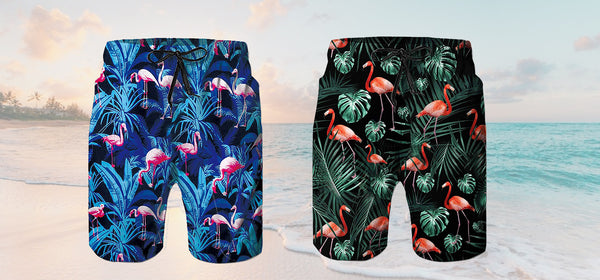 Best Flamingo Swim Trunks For The Beach 2020