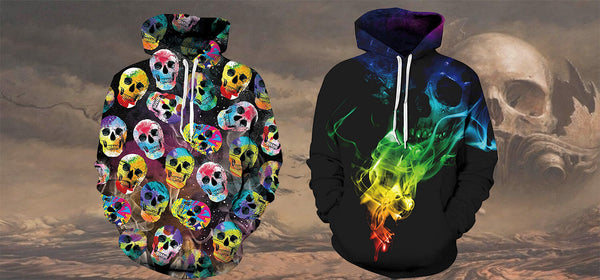 Best Graphic Skull Hoodie For Teens