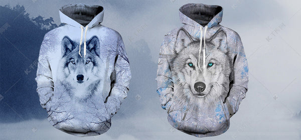 Best Wolf Hoodies For Wolf Lovers
