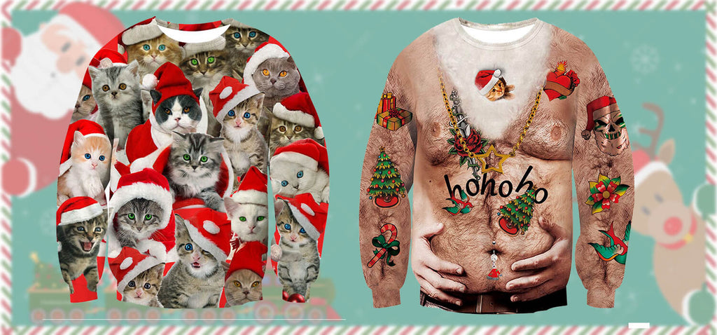 Christmas Sweatshirts 2020 Best Ugly Christmas Sweatshirts 2020 – D&F