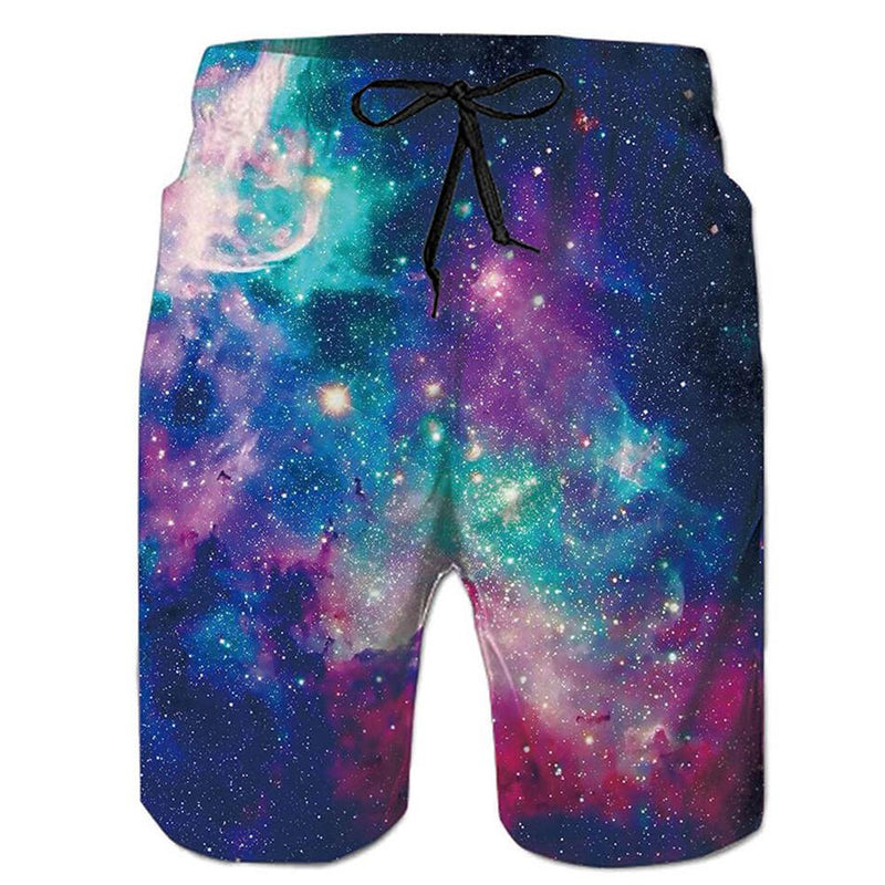 Galaxy Swim Trunks