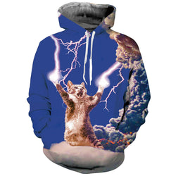 Thunder Cat Graphic Graphic Sweatshirt