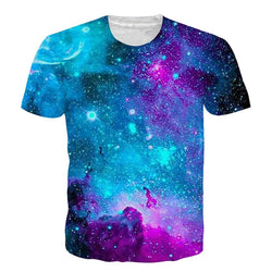 Galaxy Space T-Shirt Graphic