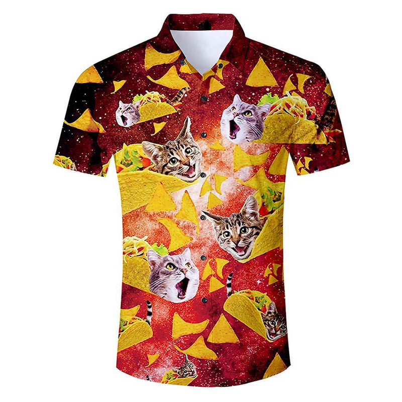 Red Taco Cat Shirt