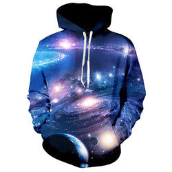 Nebular Galaxy Hoodie Space Nebular Hooded Sweatshirt