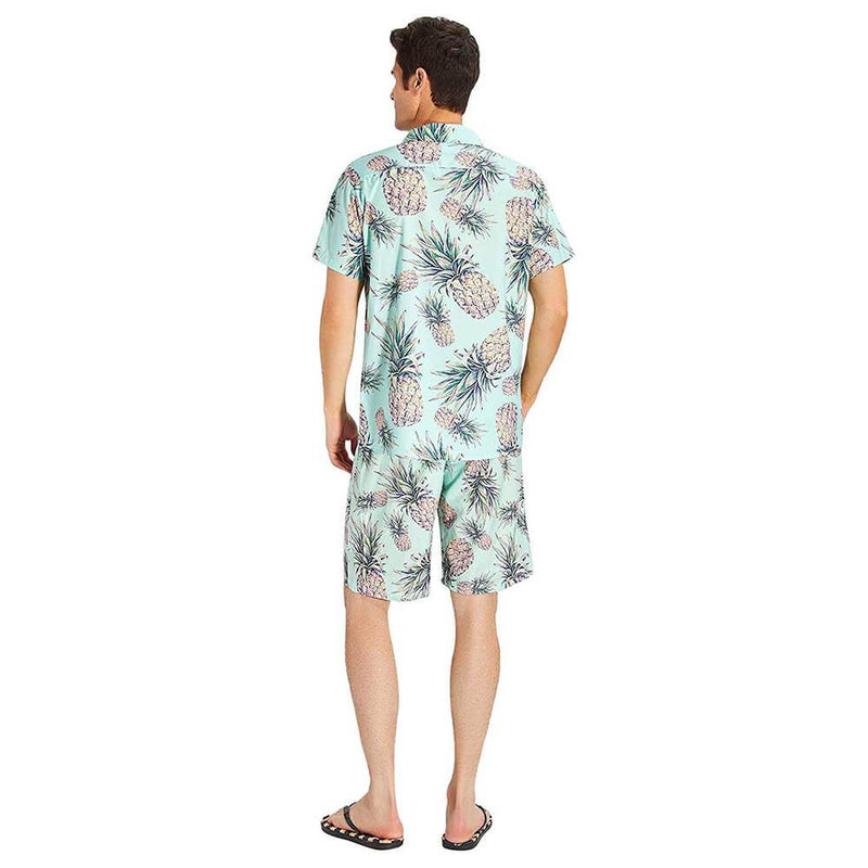 Green Pineapple Ugly Hawaiian Shirt