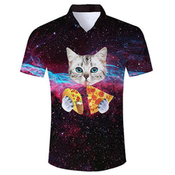 Taco Pizza Cat Shirt