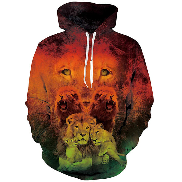 Lion Graphic Hoodie