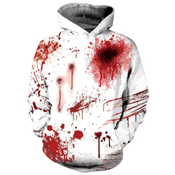 Blood Graphic Hoodie