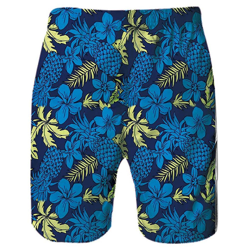 Pineapple Weed Funny Swim Trunks