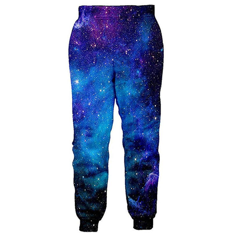Galaxy Funny Blue Galaxy Space Joggers