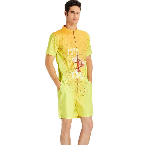 It's Beer Time Male Romper