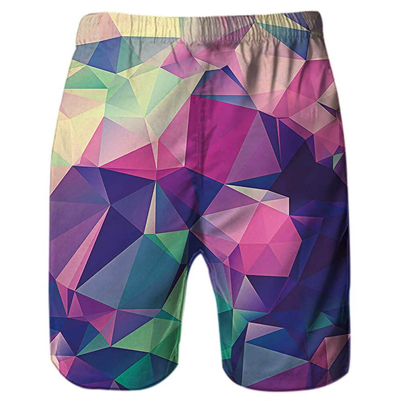 Diamond Funny Swim Trunks