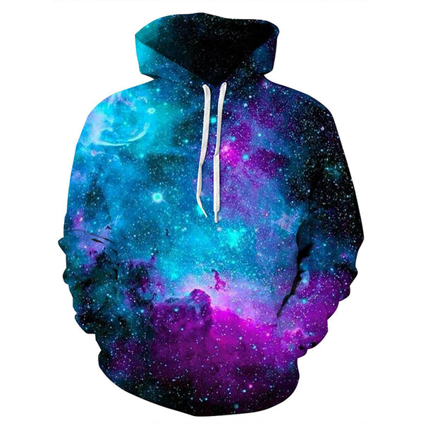 Space Galaxy Hoodies Funny Galaxy Sweatshirts For Men And Women