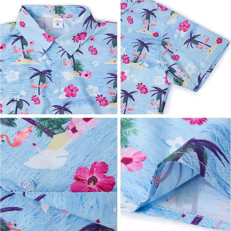 Funny Florida Flamingo Hawaiian Shirt