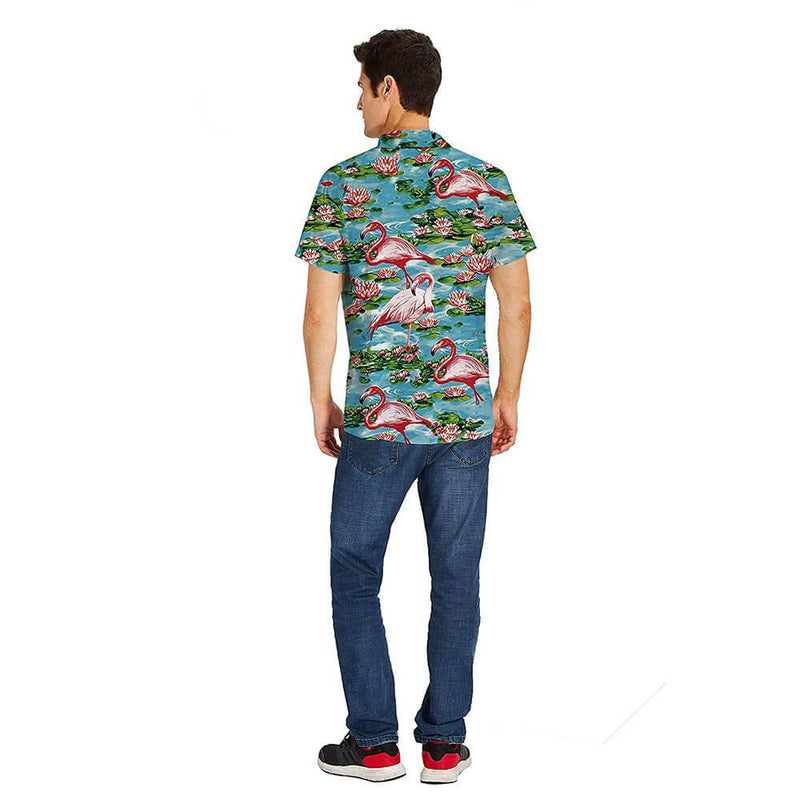 Lotus Pink Flamingo Shirt