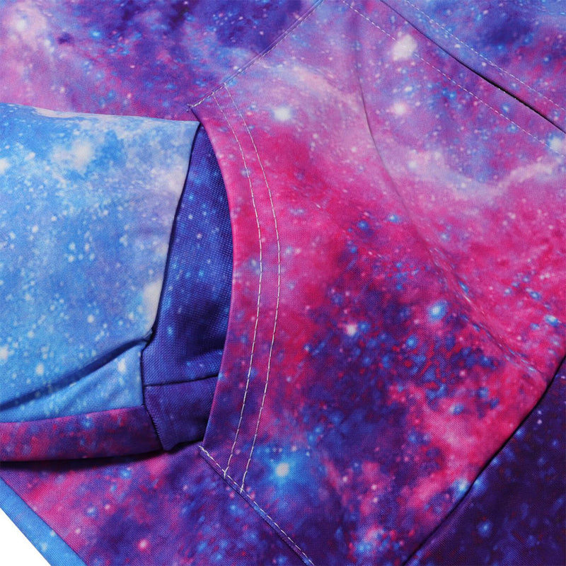 Space Galaxy Zip Up Sweatshirt
