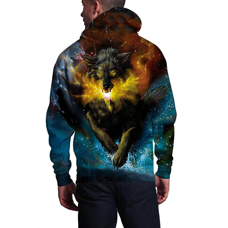 Sparkly Wolf Hoodie