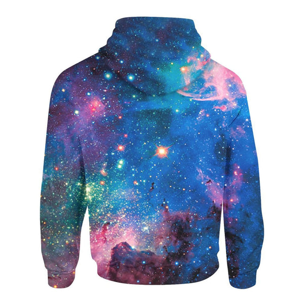 Galaxy Hoodies Vivid Galaxy Sweatshirts