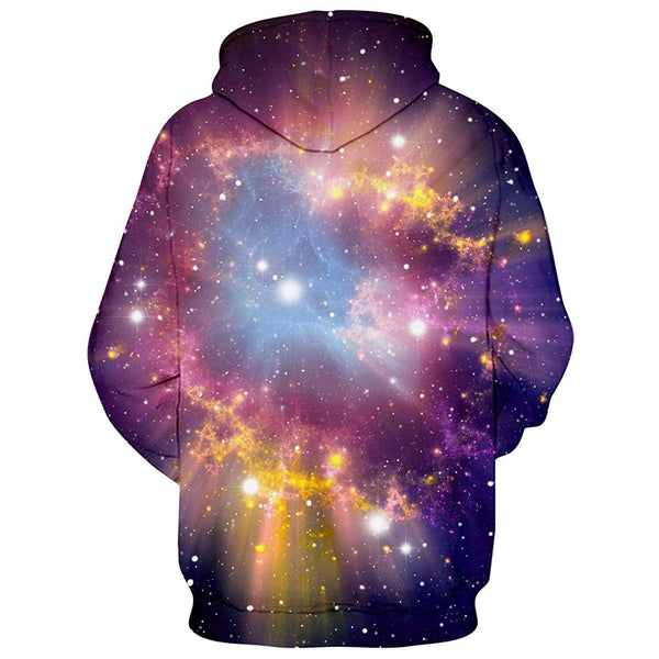Space Pizza Cats Hoodie