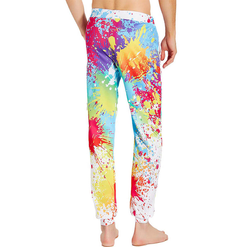 Graphic Funny Colorful Joggers