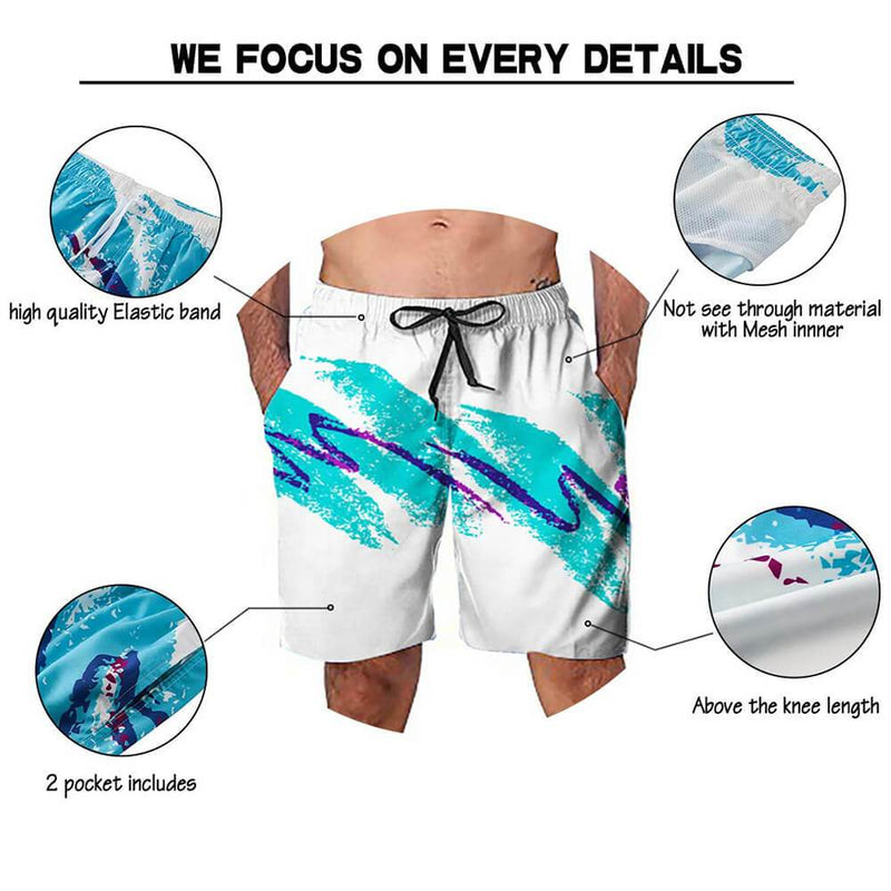 90S Paper Cup Swim Trunks