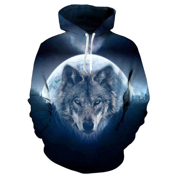 Full Moon Wolf Sweatshirt