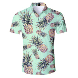 Green Pineapple Hawaiian Shirt
