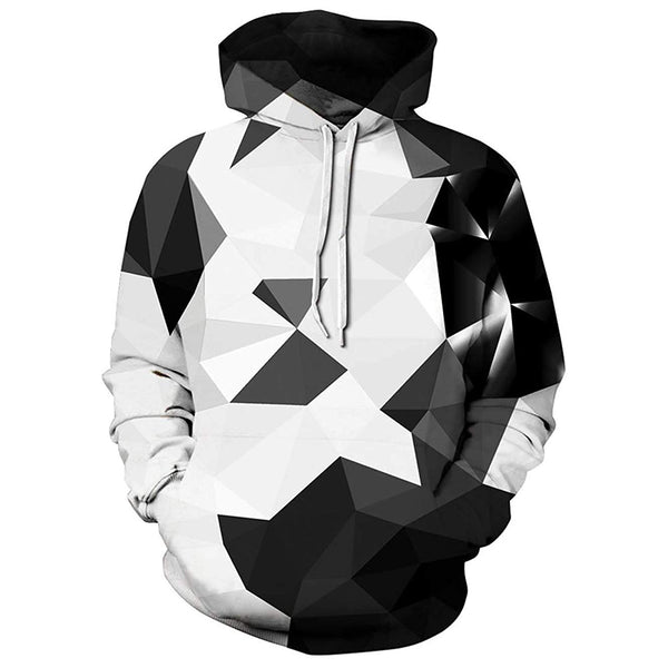 Shiny Diamond Graphic Hoodie