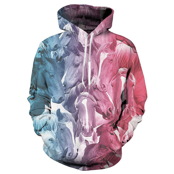 Horse Graphic Hoodie