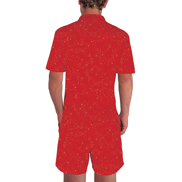 Big Tits Christmas Male Romper