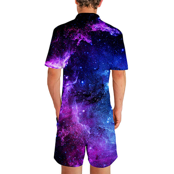 Galaxy Male Romper
