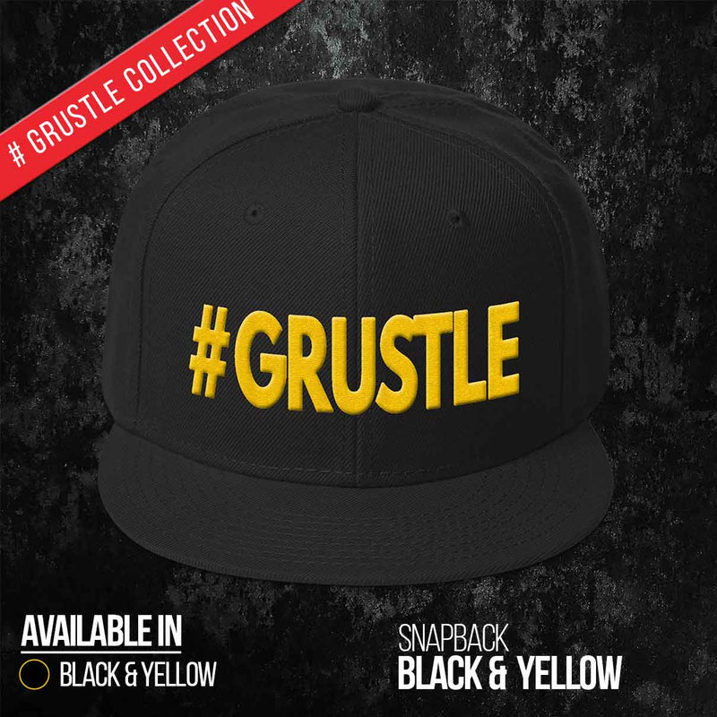 Black & Yellow Snapback
