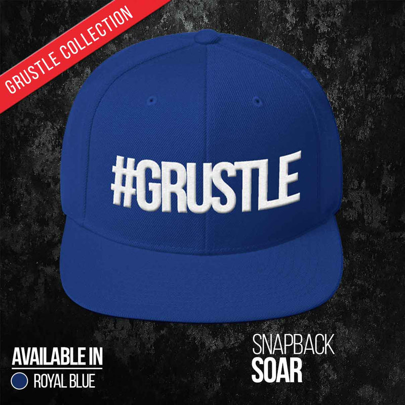 Soar Snapback (Royal Blue)