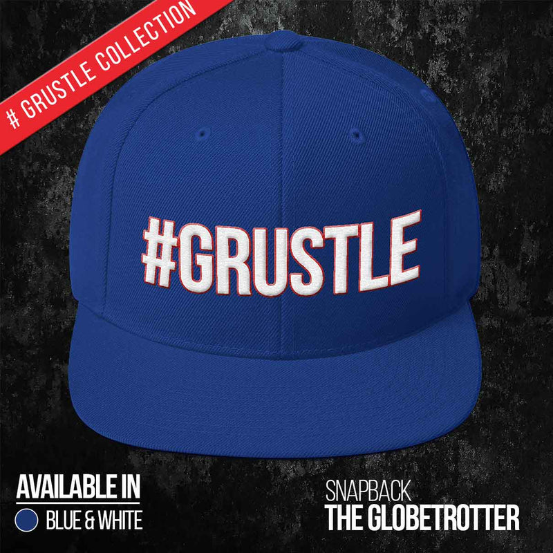 The Globetrotter Snapback (Blue)