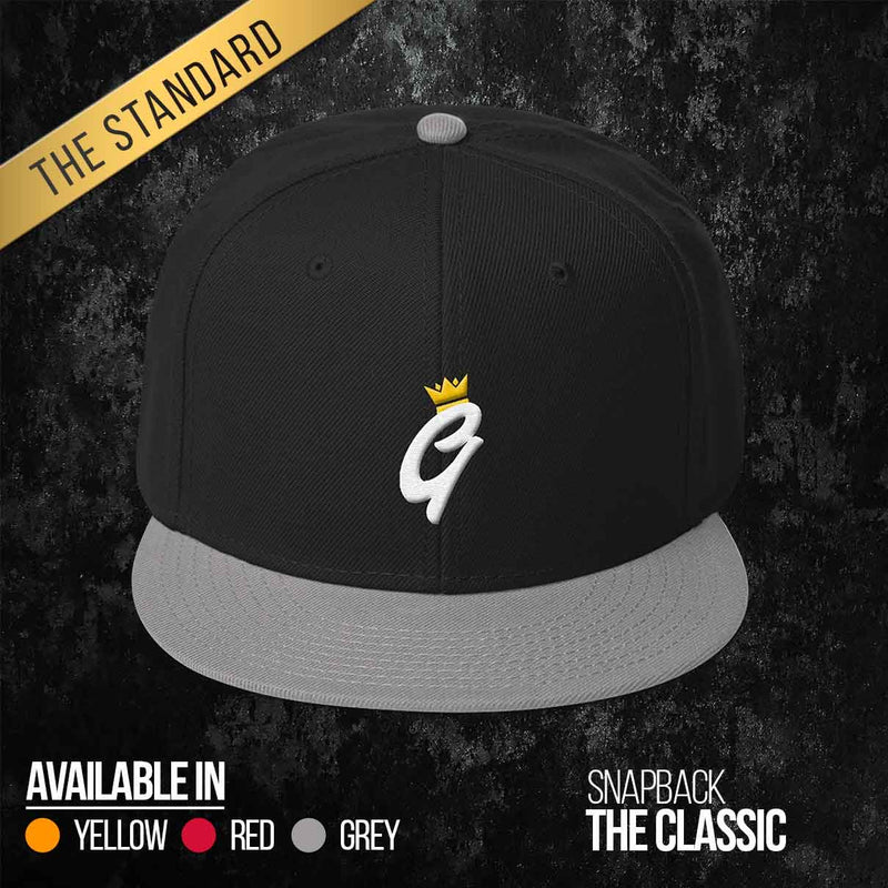 The Classic Snapback - Crown Edition