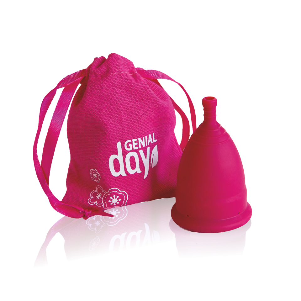 Genial Day menstrual cup TPE