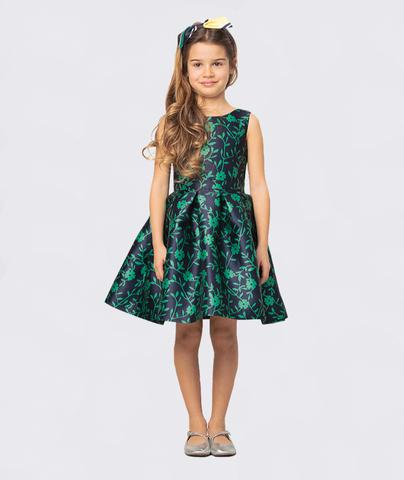Tropical Leaf Prints Adriana Dress