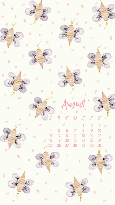 Free: August Calendars & Wallpapers Available Now