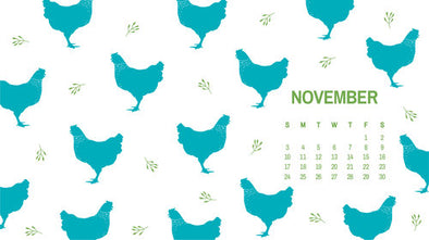 Free: November Calendars and Wallpapers Available Now!