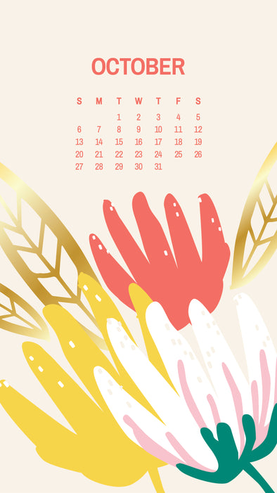 Free: October Calendars and Wallpapers Available Now!
