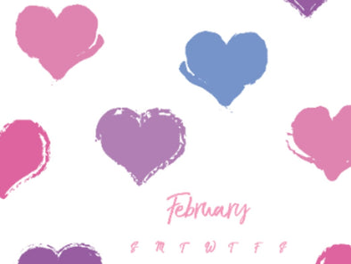 February 2021 Downloadable Calendars and Wallpapers Available Now!