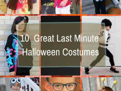 10 Great Last-Minute Halloween Costumes