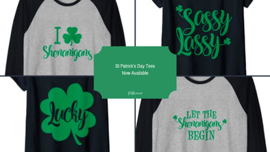 St. Patrick's Day Tees Now Available